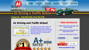 A1 Driving and Traffic School